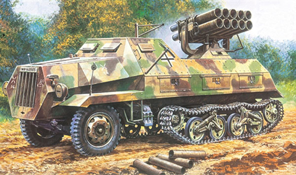 Semi Chenille LRM Panzerwerfer...