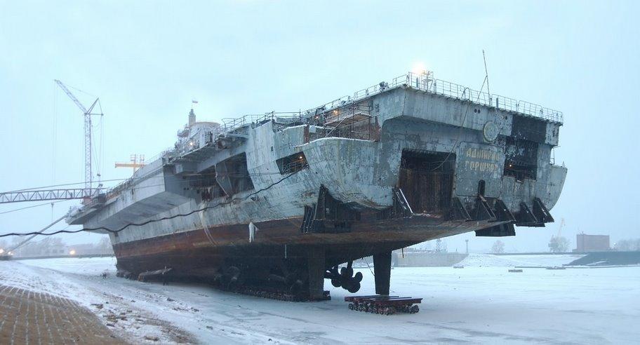Porte Aeronefs Admiral Gorshkov Maquetland Com Le Monde