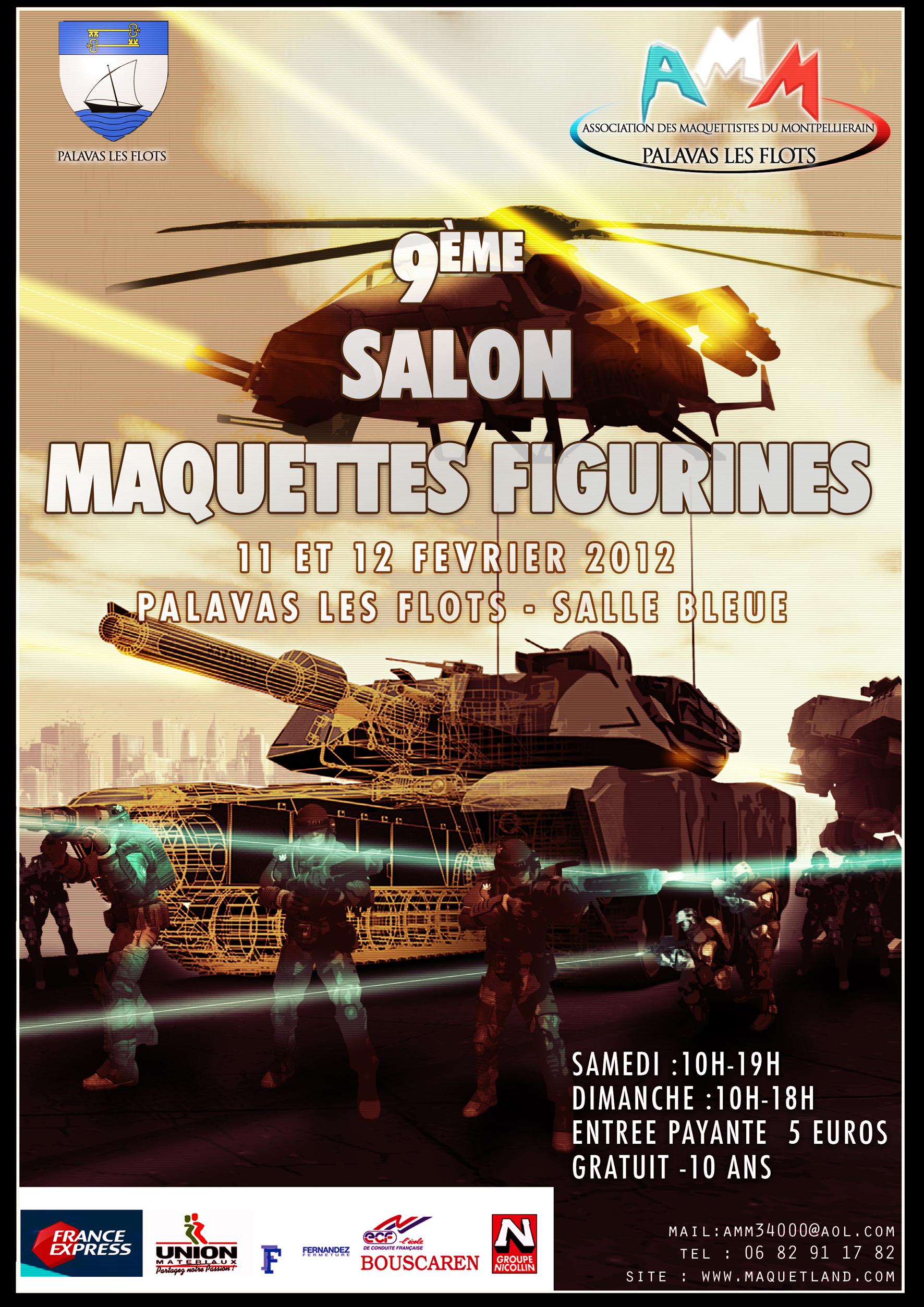9e Salon de la Maquette 11 et 12 fevrier 2012 à Palavas (34) Affiche2012%20copie