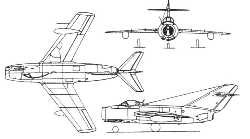 Urss Mig Saga 2nd Part The First Jets Mig9 And 15