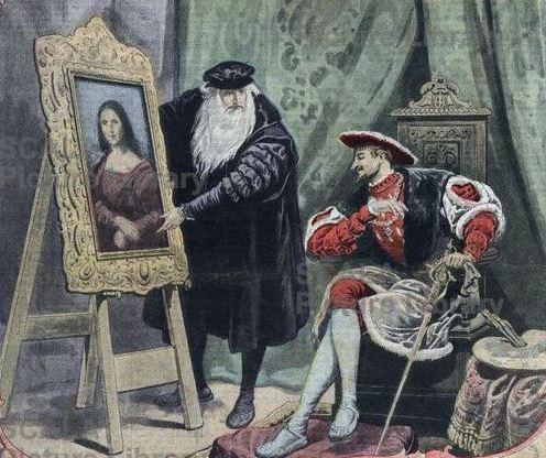 Est Un Tableau De Leonard De Vinci Realise Entre 1503 Et 1506 Ou 1519 | Auto Design Tech