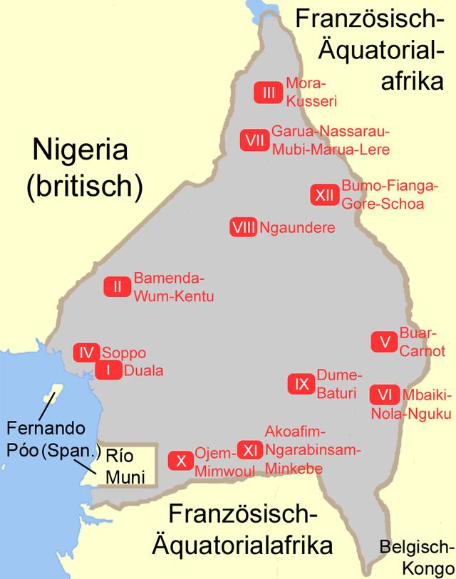 die kameruner
