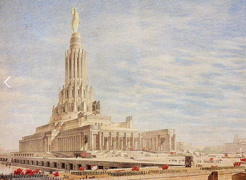Urss 1935 staline architecte le monde de for Architecture urss